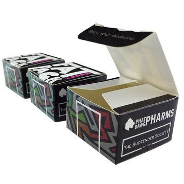 Wholesale Custom Folding Card Paper Medicine Boxes