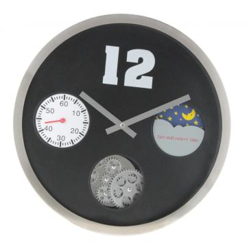 Gear Wall Clock With 3 Eyes