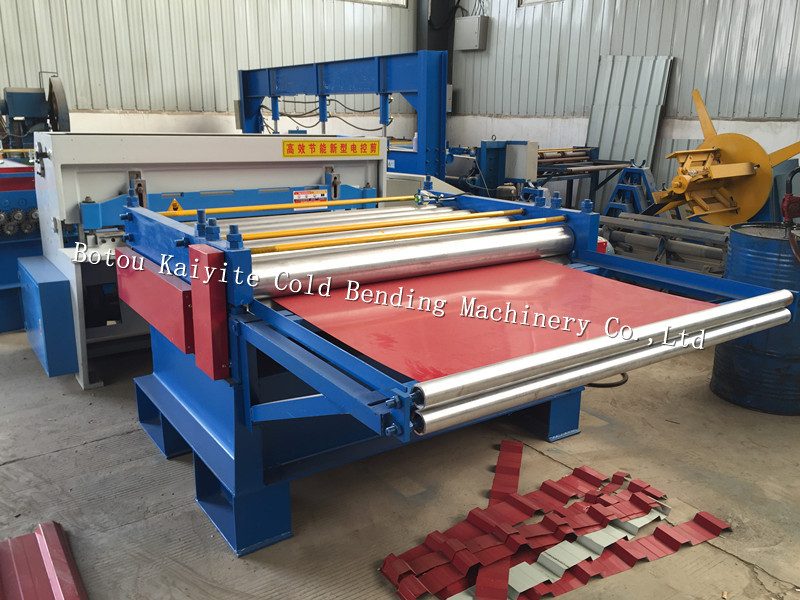steel plant shearing machine