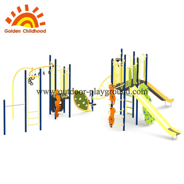Light Color Outdoor Playground Equipment For Children