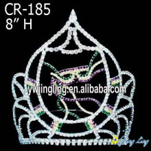 "8"" Large custom pageant crowns for sale"