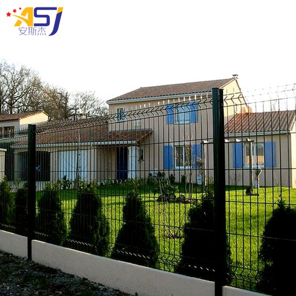 triangle bending fences galvanized and pvc coated fence
