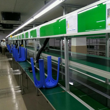 Camera Belt Conveyor Assembly Line