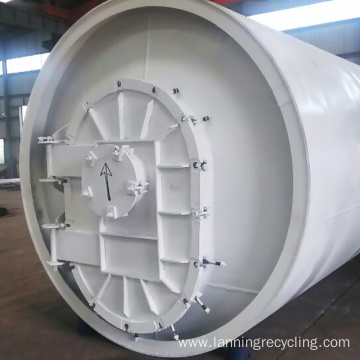 Lanning Rubber Plastic Tyre Recycling Plants