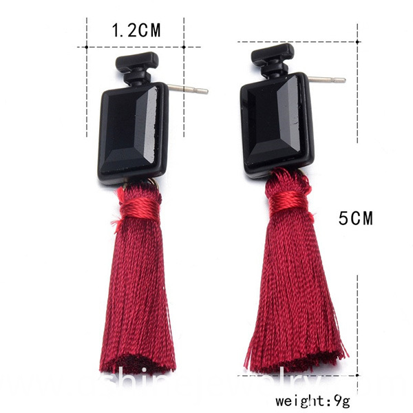 Wholesale Wedding Tassel Drop Earrings