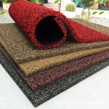 Eco-friendly PVC coil car floor cushion mat