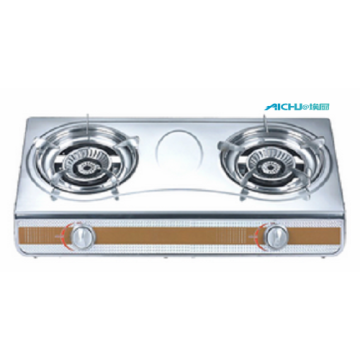 2 Burners Stainless Table Gas Stove