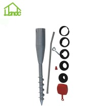 China for Ground Screw with Nuts Free Sample Standing Steel Umbrella Anchor supply to Senegal Manufacturer
