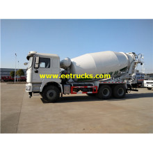 12 CBM 10 Wheel Mixer Concrete Trucks