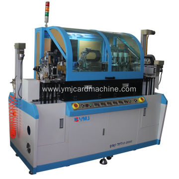 Auto Single Core Milling and Embedding Machine