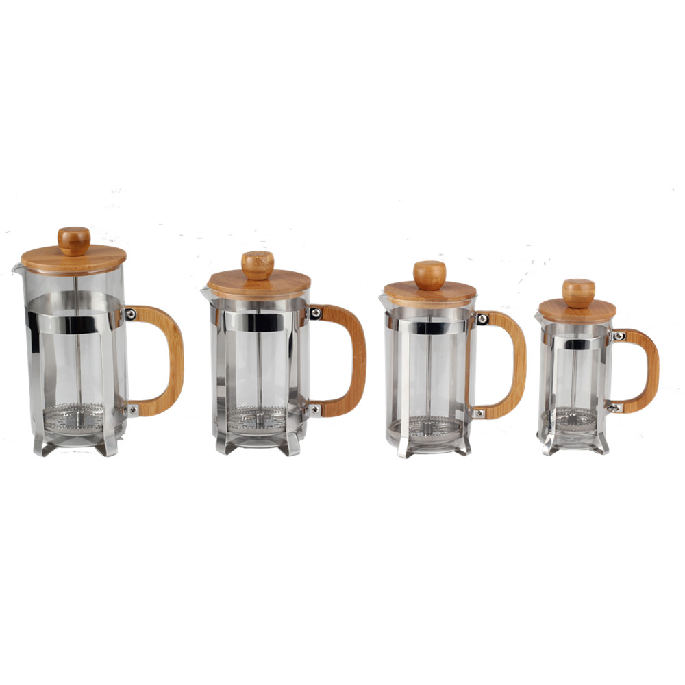 Professional Wholesale Glass French Press Set