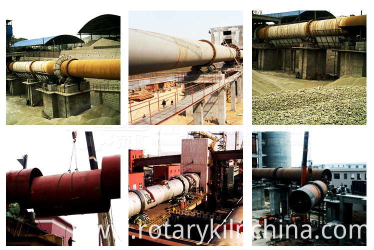 rotary kiln for sponge iron plant