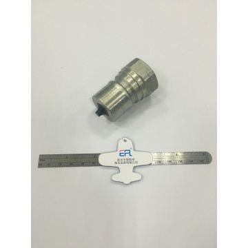 20 Pipe Size ISO7241-B Male Quick Coupling