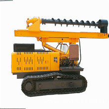Foundation construction crawler pile driver