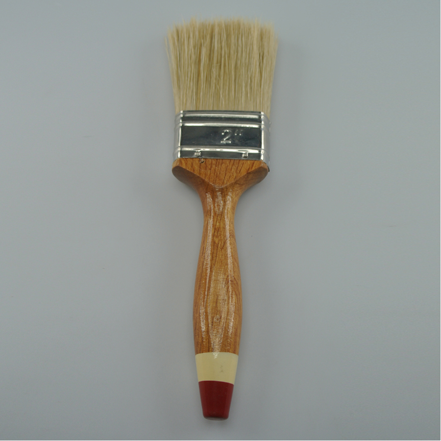 Wooden Handle paint brushes Cheap Bristle
