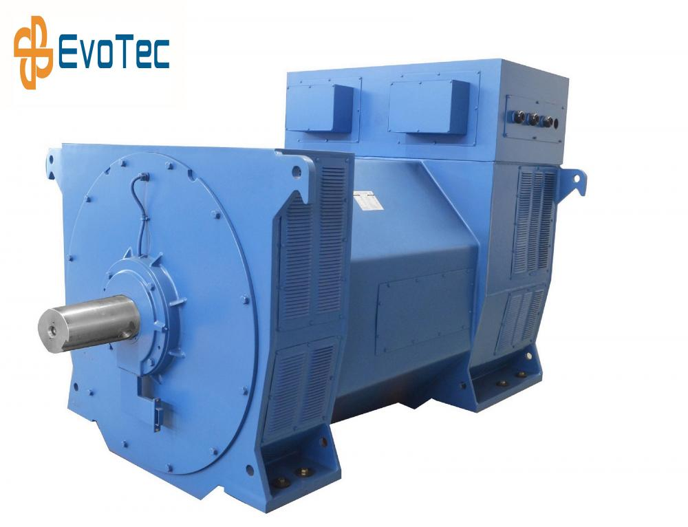 6 Pole Double Bearing Generator