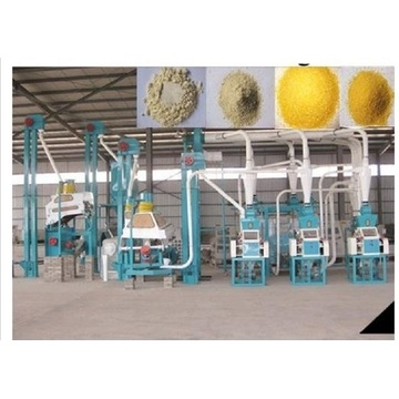 6FSY-100 type stone mill flour machinery