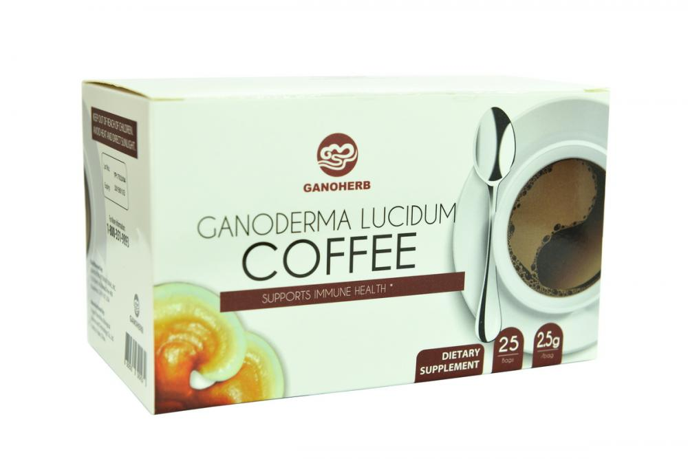 Wholesale 3 In 1 Instant Black Ganoderma Coffee