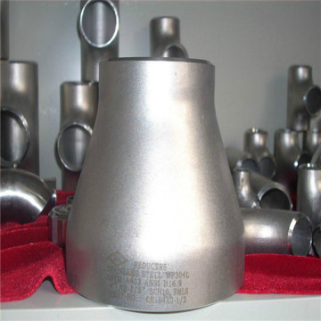 Black carbon steel concentric seam pipe fitting reducer