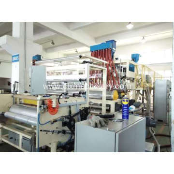 Three Extruders PE Stretch Film Unit