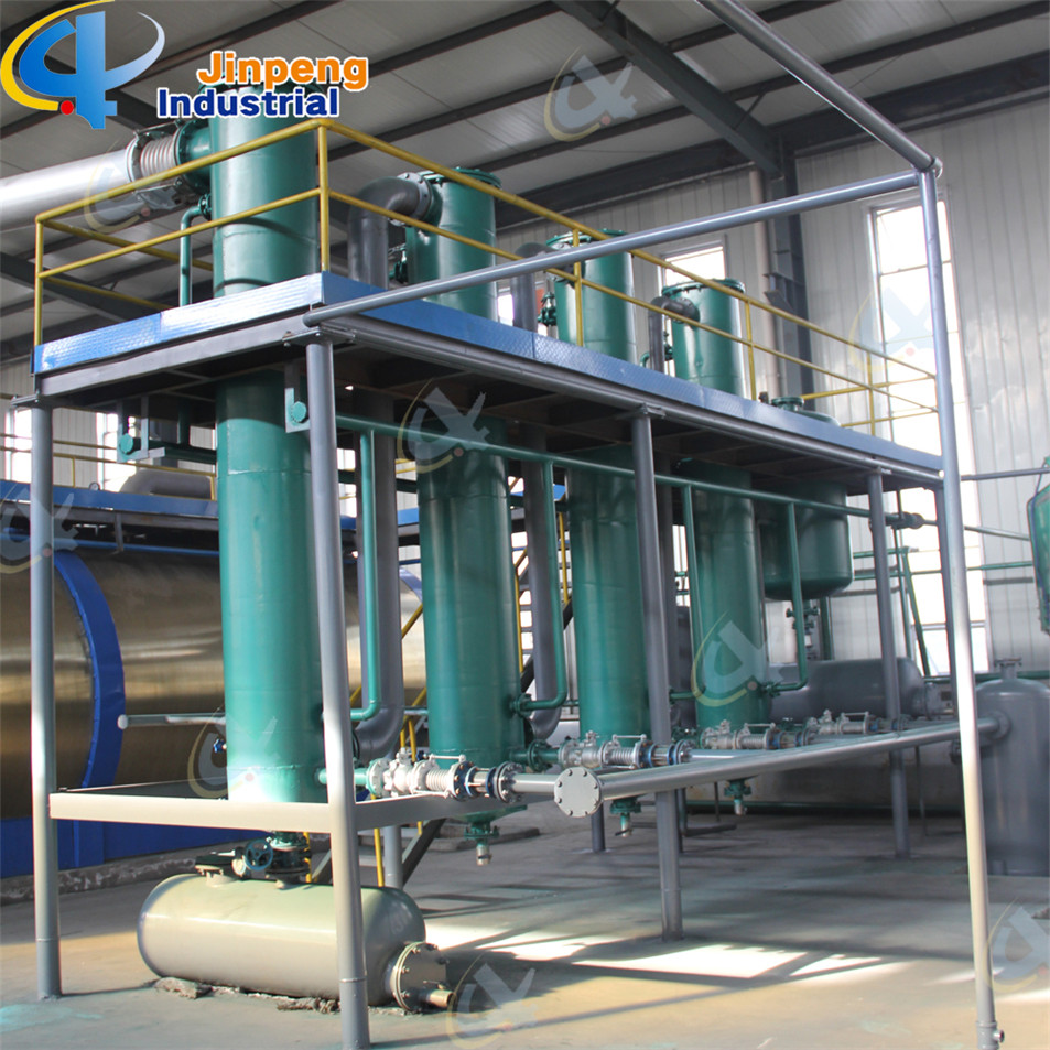 Oil Distillation Plant Waste Engine Oil Recycle Plant