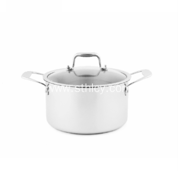 Three-layer Stainless Steel Hot Pot