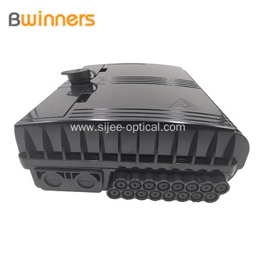 Ftth Fiber Optical 16 Port Wall Mounted Distribution Box Access Outdoor Terminal Junction Box