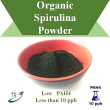 Low PAH4 Less than 10 ppb Organic Spirulina