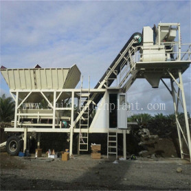 25 Mobile Concrete Mix Plant