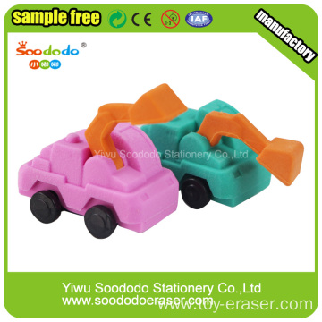 Bulldozer Shaped Promotion Shcool Eraser