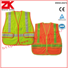 Personlized Products for Safety Vest With Pockets Safety vest with pvc tape supply to Dominican Republic Supplier