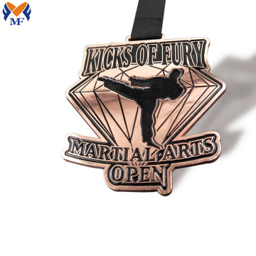 High quality copper taekwondo award medals