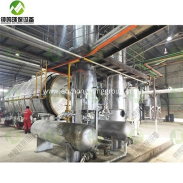 Continuous Fractional Distilation of Crude Oil Equipment