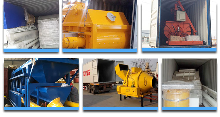 Concrete Mixer Dimensions package
