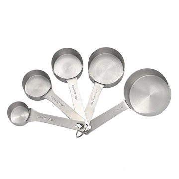 5 pcs stainless steel baking measuring cups