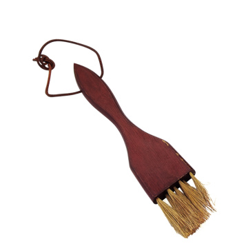 wood handle roasted brush bbq oil brush