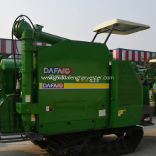 import bearing&V belt crawler type rice harvester selling