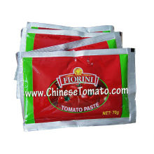 Cheap price for 70g Pouch Tomato Paste Double Concentrated producer of Tomato Paste supply to India Factories