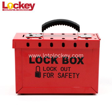 Steel Group Safety Lockout Tagout Box