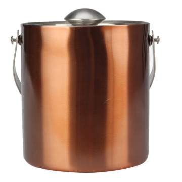 Copper Stainless Steel Ice Bucket Barware Kit
