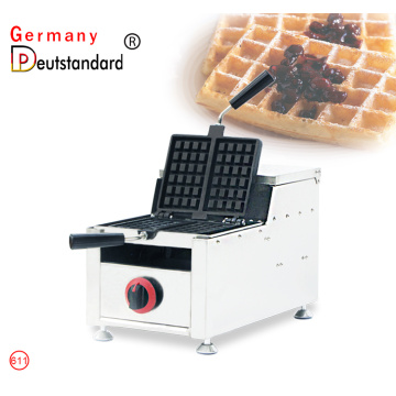 commercial gas LPG waffle maker with CE NP-611
