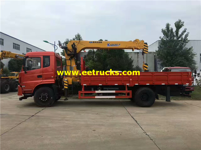 DFAC 6ton Truck Mounted Cranes
