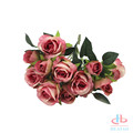 High quality preserved real touch rose flowers