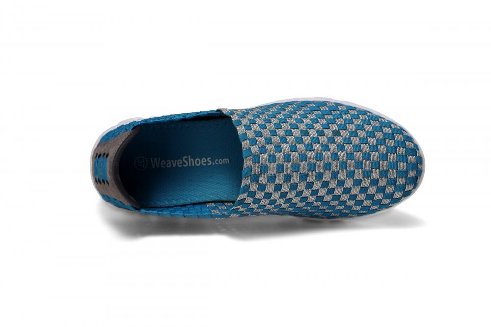 Mesh Insoles Woven Loafers