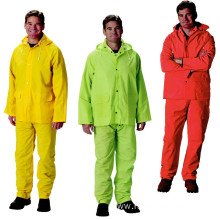 Best quality and factory for PVC Raincoat High Quality Durable Vinyl Rain Suit export to Western Sahara Importers
