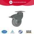 Medium 100mm Plate Brake all plastic Casters