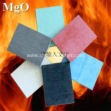 High density No-asbestos Reinforced Fireproofing MgO Board