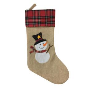 China OEM for Unique Christmas Stockings Traditional Christmas Decoration Snowman Stocking supply to Portugal Manufacturers