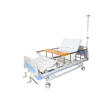 Hospital equipment manual 2 crank medical bed