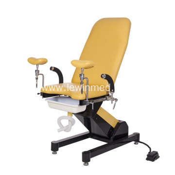 Obstetric chair for women birth exam function